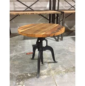 hopper bistro table