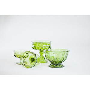 green glass vessel - single
