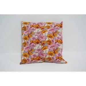 pink floral pillow #2