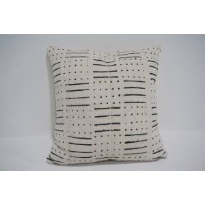white mud cloth pillow #5