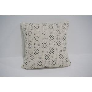 white mud cloth pillow #8