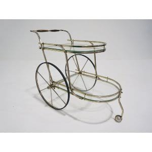 mid centch bar cart