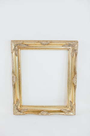 large gold picture frame