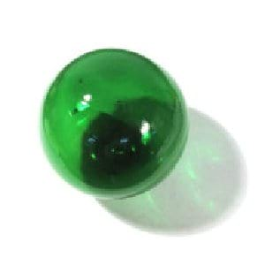 small glass buoy