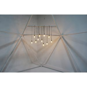 edison lighting fixture - helix dome