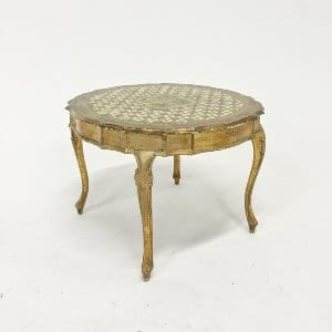 decker florentine coffee table