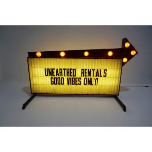 lighting + marquee signs