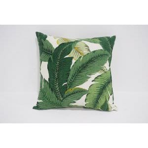 palm leaf pillow #2
