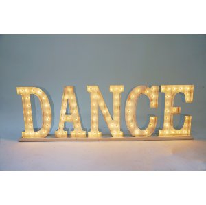 DANCE marquee