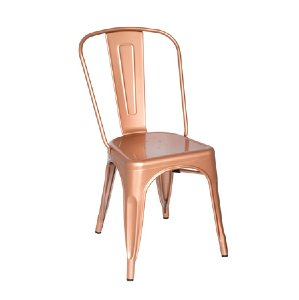 copper remington metal chair