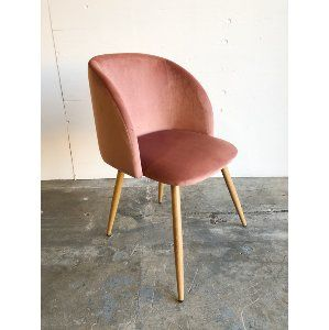 vanna chair pink