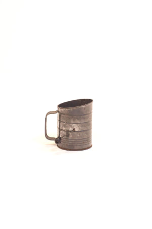 silver flour sifter