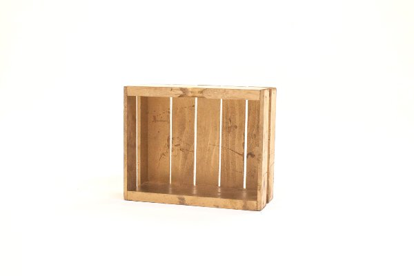 small gold crates