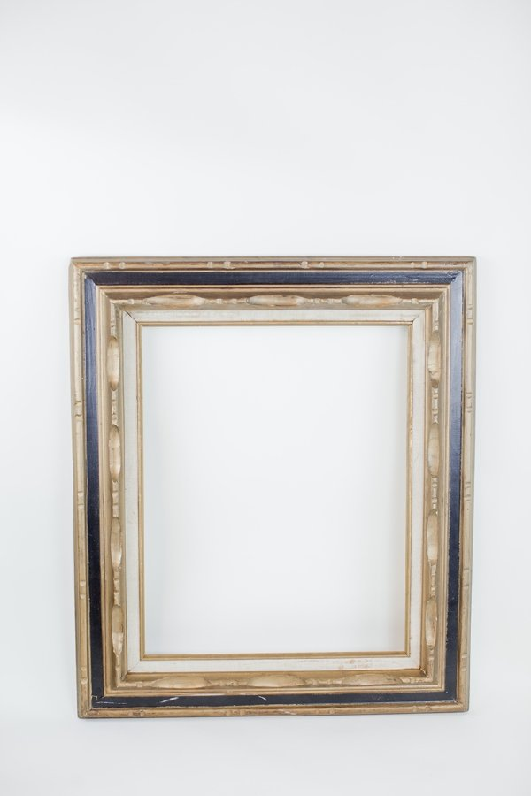 gold and black picture frame