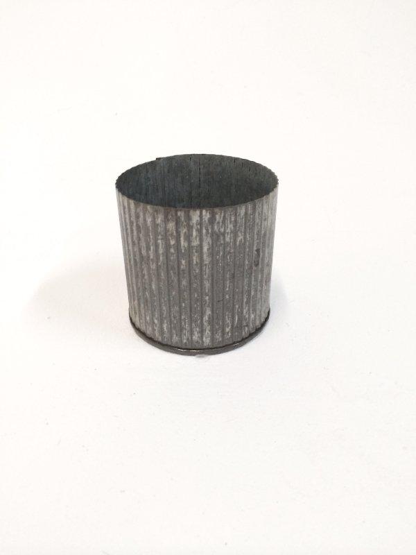 small corrugated tin