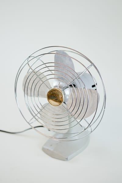 bowman silver fan