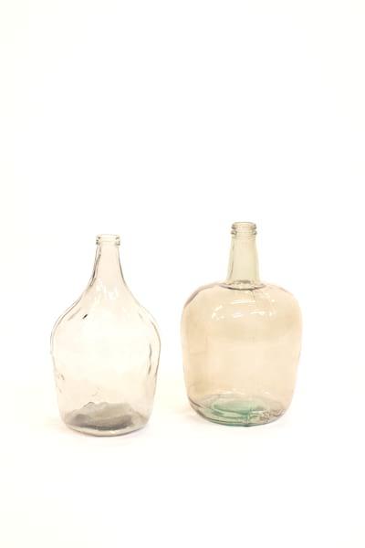 large aqua glass vessel