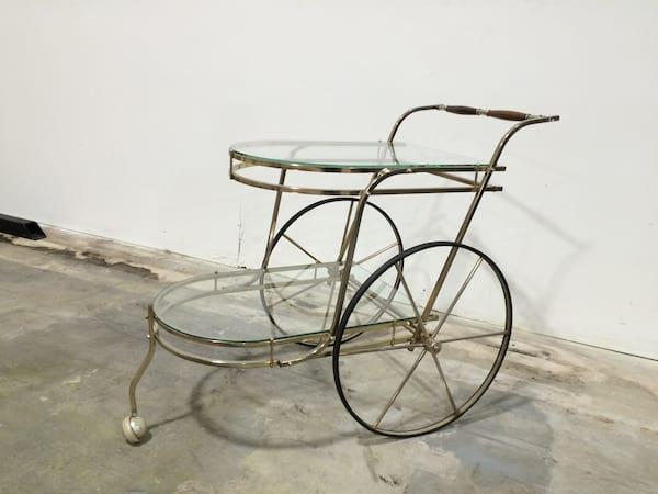 mid centch bar cart