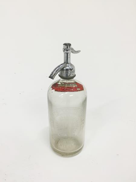 rockaway clear seltzer bottle