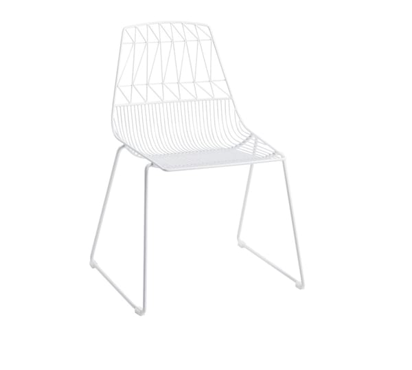 bowie chair - white