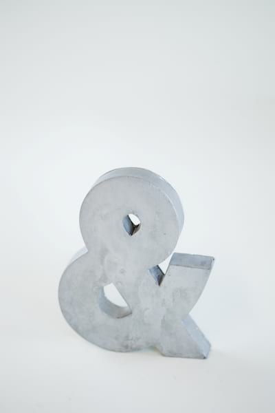 metal ampersand