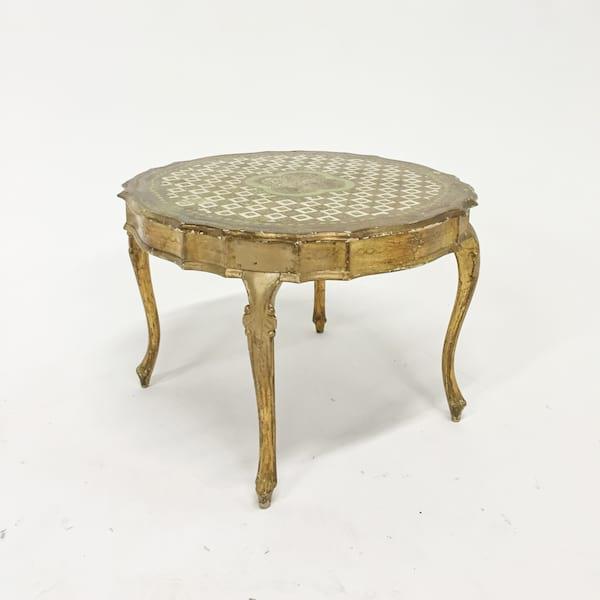 decker florentine coffee table