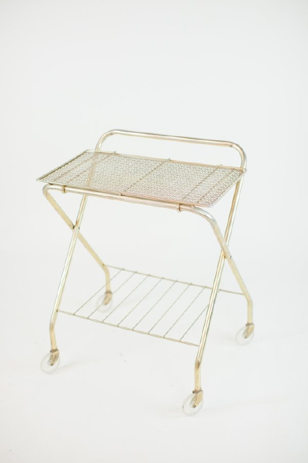 deco gold cart