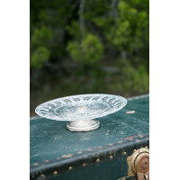 Estelle Glass Pedestal