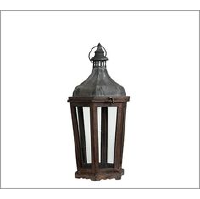 Galvenized Lantern - Medium