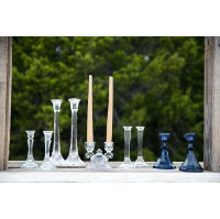 Thelma Glass Candle Holders