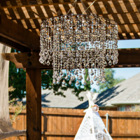 Crystal 2-tier Chandelier