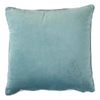 Light Blue Velvet Pillow