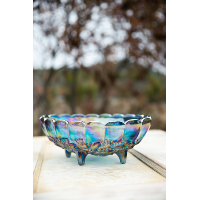 Laverne Carnival Glass Bowls