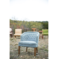 Maxine Blue Chair