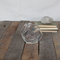 Glass Geo Terrariums - Small