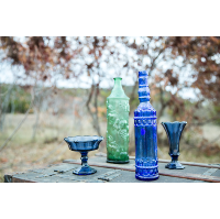 Blue & Green Vessels