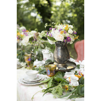 Mae Silver-plate Tea Pitcher