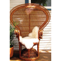 Penny Wicker Peacock Chair