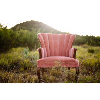 Rouge Pink Chair