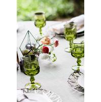 Genevieve Green Goblets