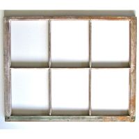 6-Pane Window Frame