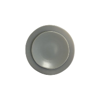 Heirloom Smoke Salad Plate (Grey Plate)