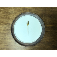 New Deco Gold Dessert Fork
