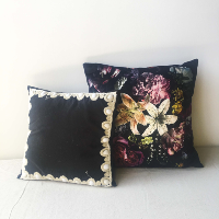 Dark Glam Pillow