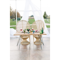 Custom Sweetheart Table