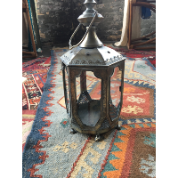 Moroccan lantern (m)- tiny fire lion