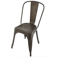 dark bronze tolix chair