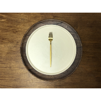 New Deco Gold Salad Fork