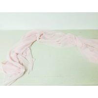 Pink Gauze Table Runner