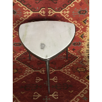Marble Triangle Side Table